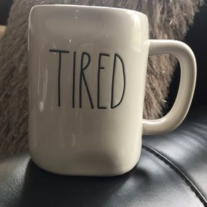 Accessories - New TIRED RAE DUNN Cup Mug